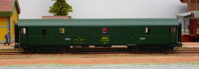 Hornby-Jouef réf. HJ4058 fourgon à bagages D 50 87 92-47 254-2 SNCF ex-DRG