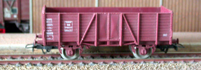 Jouef ref. 6816 2 axles open goods wagon Om 716137 DB