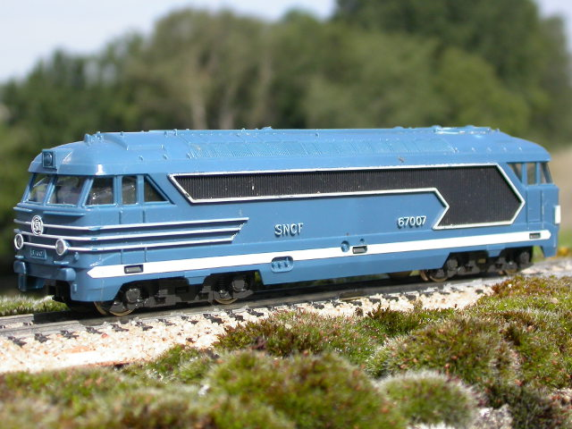 Fobbi locomotive Diesel BB 67007 SNCF