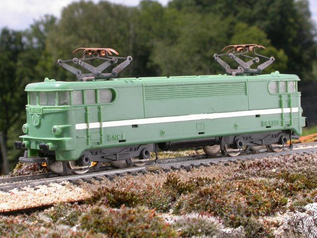 jouef locomotive lectrique bb 9201 sncf vert. Black Bedroom Furniture Sets. Home Design Ideas