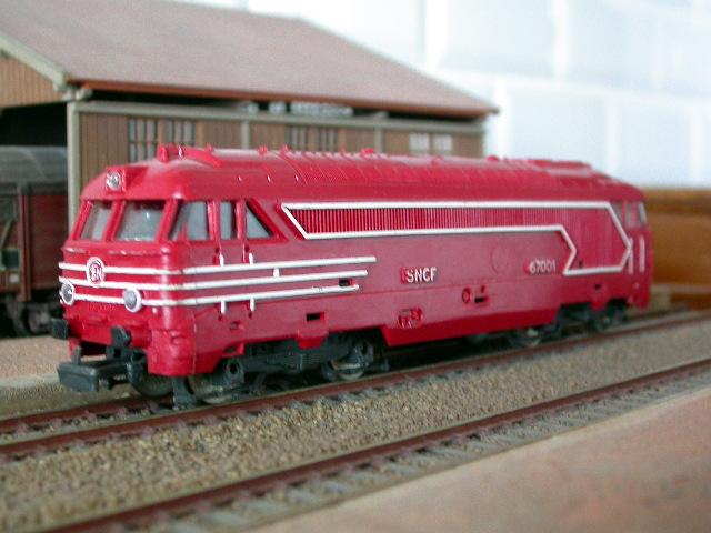 jouef locomotive diesel bb 67001 sncf rouge. Black Bedroom Furniture Sets. Home Design Ideas