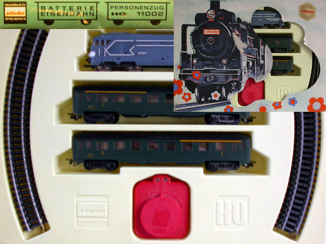 Stabo ref. 11002 passenger train set