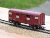 Jouef ref. 6240 2 axles covered wagon K 337557 SNCF type Europ