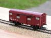Jouef ref. 6250 2 axles covered wagon SNCF type UIC