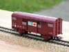 Jouef ref. 6251 2 axles covered wagon SNCF type UIC