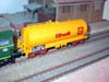 Jouef bogie tank wagon Uahs 21 87 007 2 143-2 SNCF Shell