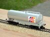 Jouef ref. 6521 bogie tank wagon Uahs 21 87 007 2 143-2 SNCF Total