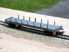 Jouef ref. 6550 bogie bolster wagon Ro2yw 194921 SNCF gris