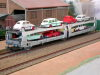 Jouef ref. 6571 articulated car transporter La SNCF