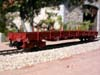 Jouef ref. 6750 bogie dropside wagons Res 31 87 393 9 922-4 SNCF, unloaded