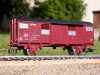 Jouef ref. 6823 2 axles covered wagon Gs 01 84 127 0 305-2 NS type Europ