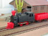 Jouef réf. 800400 locomotive-tender 020 T Far West noir/rouge