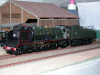 Jouef ref. 8255 steam locomotive Pacific 4-6-2 K 82 SNCF tender 38 A 1