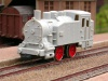 Jouef locomotive-tender 020 T 708 grise