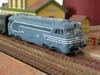 Jouef locomotive Diesel BB 67001 SNCF bleue version simplifiée