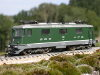 Jouef ref. 8856 electric locomotive Re 4/4 II 11166 SBB CFF FFS green