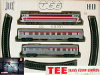 Jouef ref. 756 E train set « Trans Europ Express »
