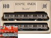 "Jouef ref. 761 E train set ""Rame inox Budd"""