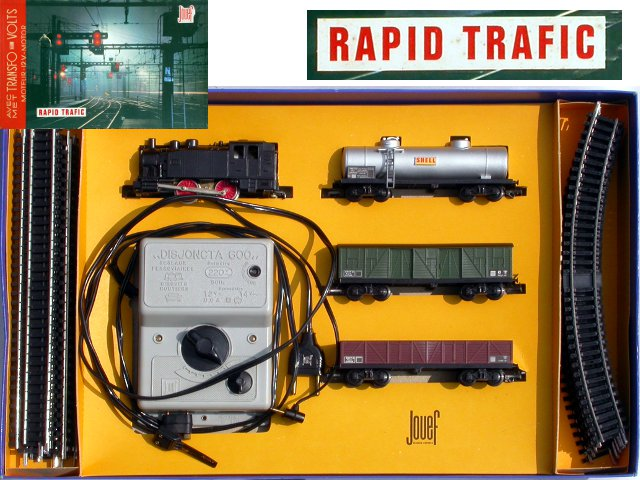 Jouef train set « Rapid Trafic »